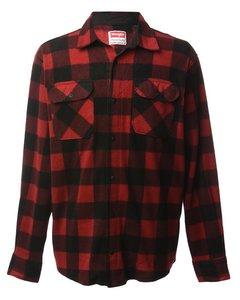1990s Wrangler Buffalo Check Shirt