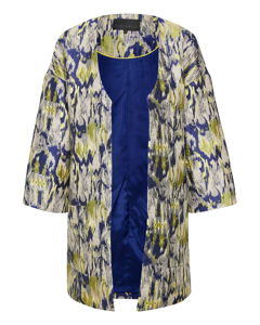 Golden Jacket Indigo Blue