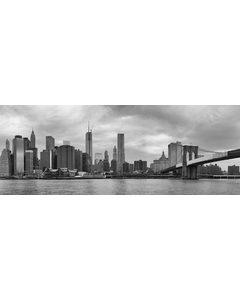 Panorama New Brooklyn Bridge York