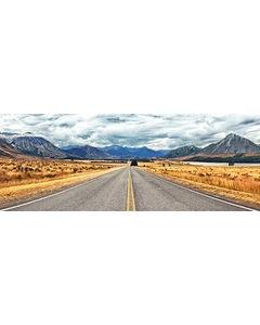Landsväg Mellan Bergen