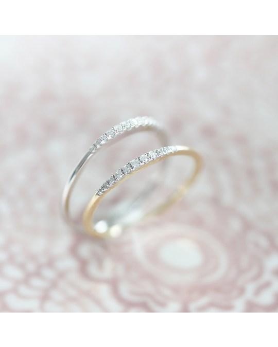 Lucardi 14 Karaat Geelgouden Ring Met Diamant (0,06ct)