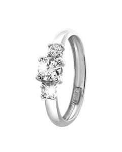Witgouden Ring Met Zirkonia