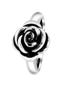 Zilveren Ring Roos Bali