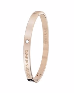 Guess Stalen Armband Bangle Roseplated Forever