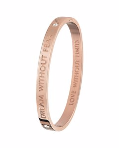 Guess Stalen Armband Bangle Roseplated Dream