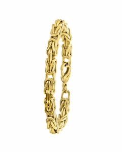 Vergoldetes Herrenarmband, Königsglieder