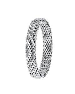 Mesh-Ring aus Stahl
