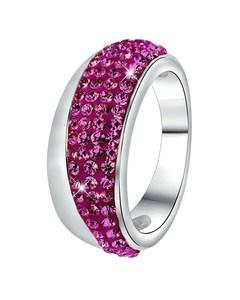 Stalen Ring Amethyst Kristal