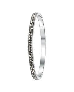 Stalen Armband Black Diamond Kristal