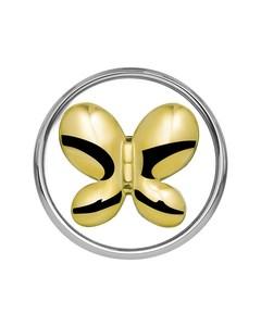Stalen Chunk Vlinder Goldplated