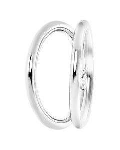 Stalen Ring 2rij