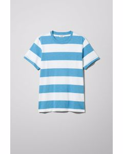 Kennedy Blockstripe T-shirt Blue