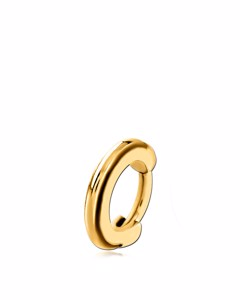 Tragus-Piercing aus vergoldetem Edelstahl, Ring, Clicker