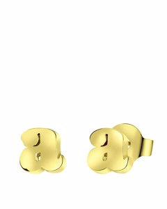 Vergoldete Ohrringe, Buchstabe - Buchstabe A