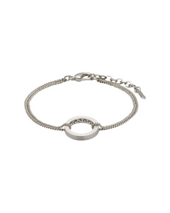 Evelyn Bracelet Silver Plated