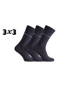 Pierre Cardin 9-Pack Sokken Grau