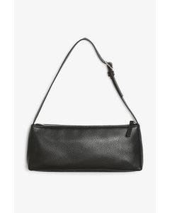 Rechteckige Handtasche Schwarz