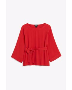 Penny Blouse Red