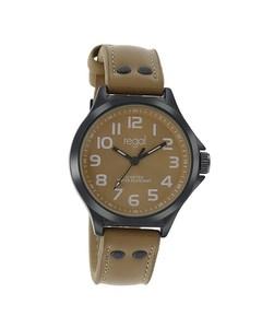 Regal Armbanduhr für Jungen mit einem braunen Lederband