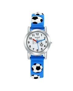 Regal Armbanduhr für Jungen in Fußball-Geschenkbox