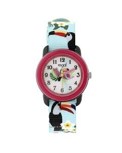 Regal Kinder Horloge Met Turquoise Band