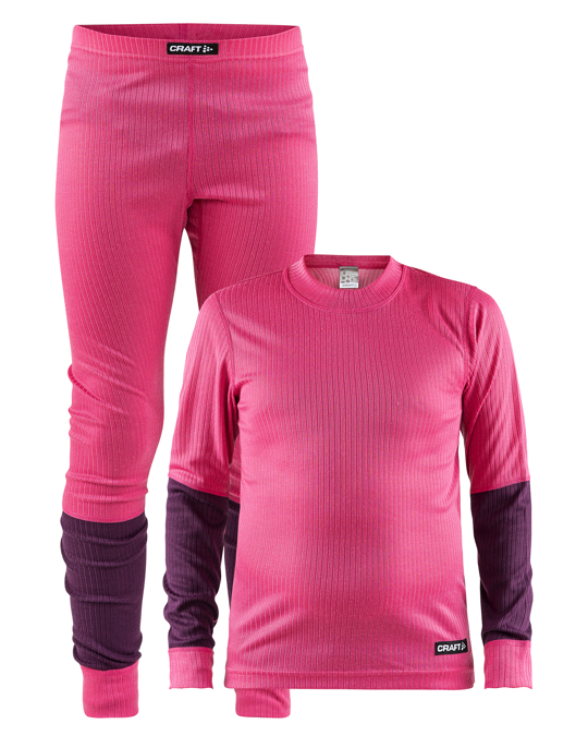Craft Baselayer Set Jr - Fantasy/tune
