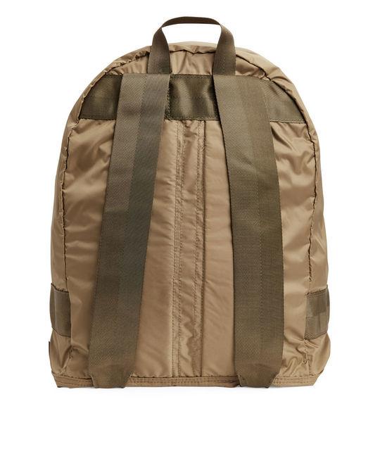 Arket Packable Rucksack Brown