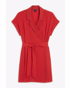 Gen Shirtdress Red
