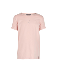 Creamie T-shirt Ss Rose Smoke
