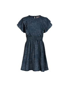 Dress Leaf Print Total Eclipse