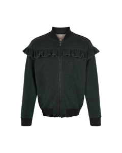 Bomber Jacket Glitter Bistro Green