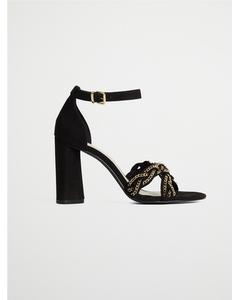 Biabarb Chain Sandal  Black 1