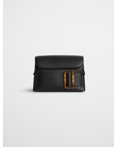 Tortoise Buckle Bag Black