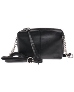 Milano Black Leather