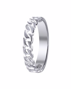 Ring in 925 Silber Gourmetglied