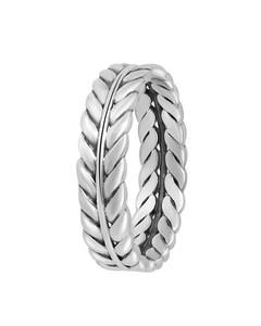 Zilveren Ring Blad Bali