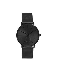 Regal Armbanduhr mit schwarzem Mesh-Armband