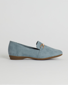 Genova Loaf Buckle Lt Denim Denim