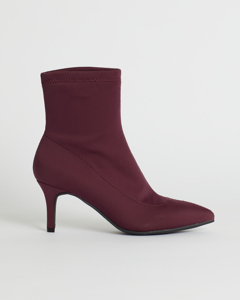 Palmi Sock Boot Bordo Bordo