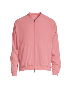M Cut Bomber Jacket Calming Red