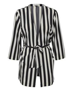 Kaalva Kimono Black Deep