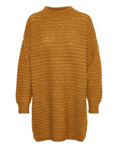 Kawendy Knit Dress Buckthorn/melange White