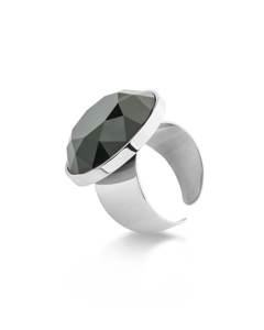 Holly Glam Ring Silver