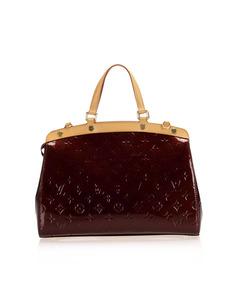 Louis Vuitton Vernis Brea Mm Red