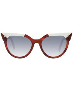 Dsquared2 Mint Women Brown Sunglasses Dq0277 5353b 53-19-147 Mm