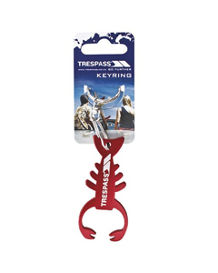 Trespass Lobster Keyring