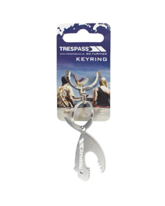 Trespass Jaws Shark Keyring - Asrtd