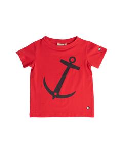 Em T-shirt Anchor Kids Raspberry