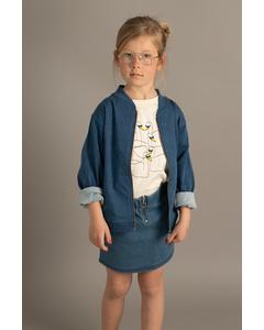 Em Bom Jacket Jeans Blue