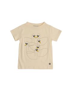 Em T-shirt Kids Swan Friends Off-white